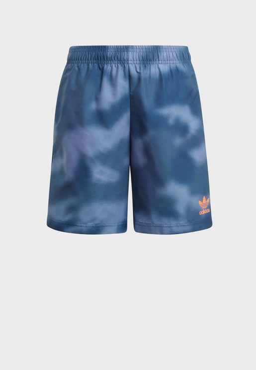 Youth Trefoil Swim Shorts