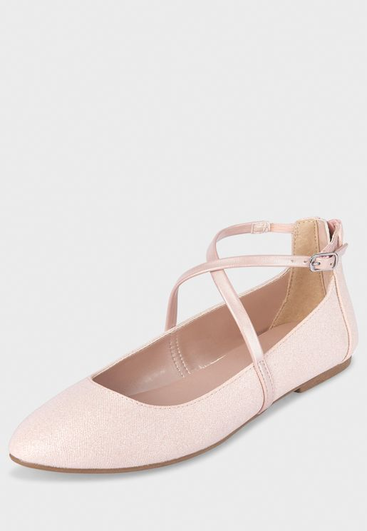Kids Cross Strap Ballerina