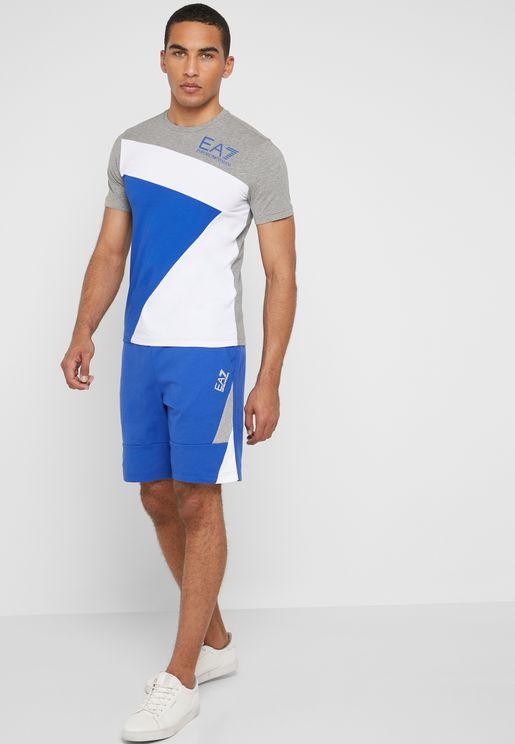 7 Colours Bermuda  Shorts