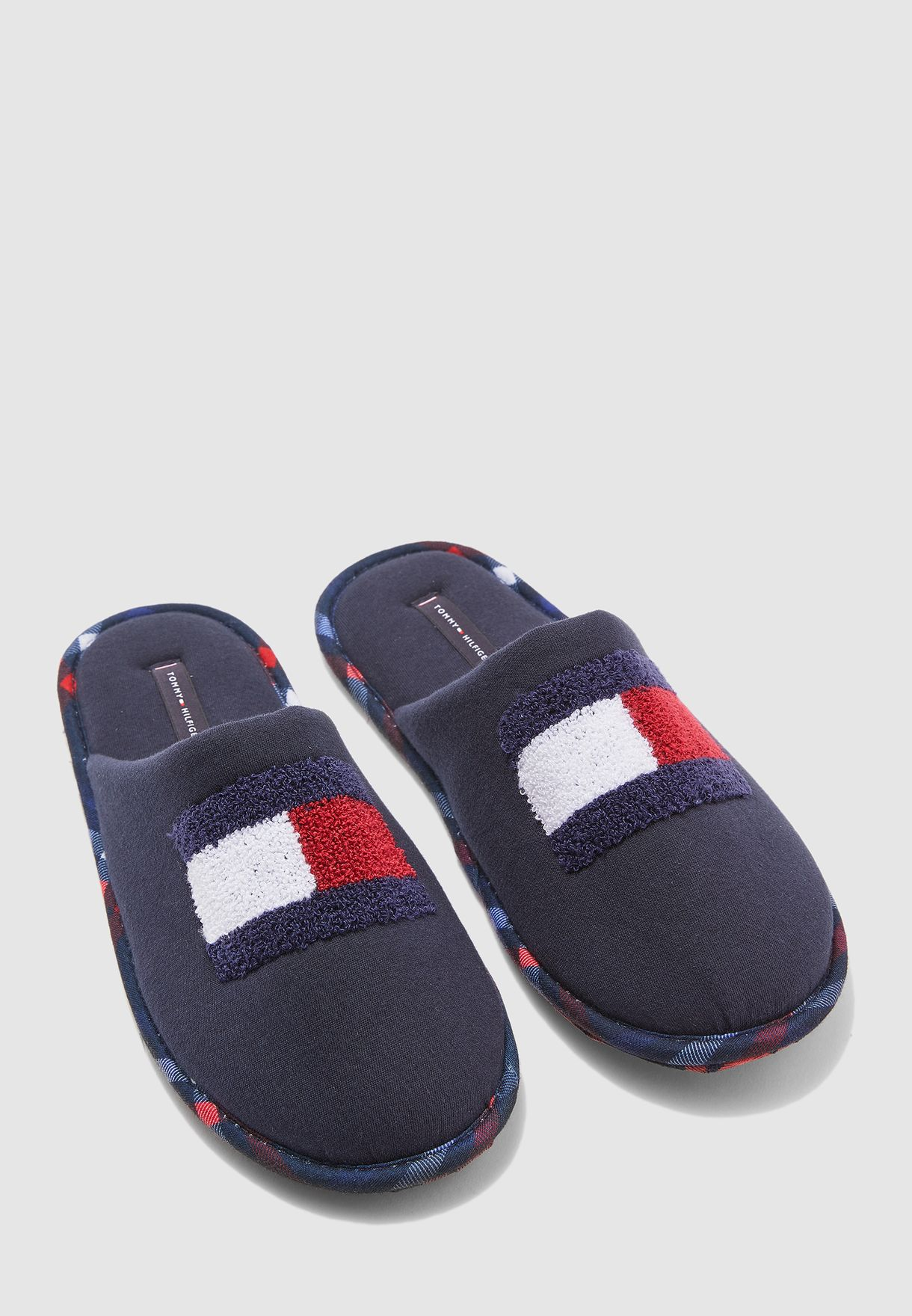 Flag Badge Bedroom Slippers