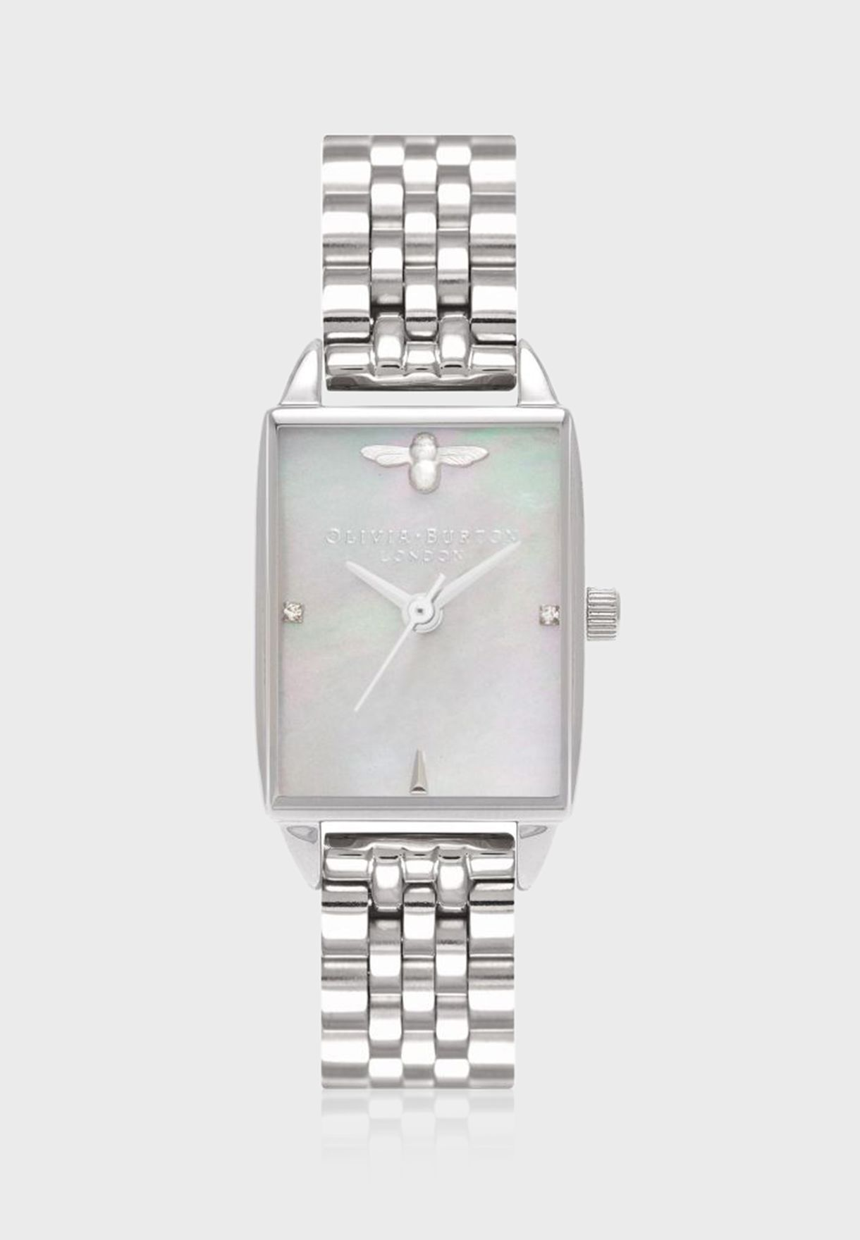 Bee Hive Square Dial Analog Watch
