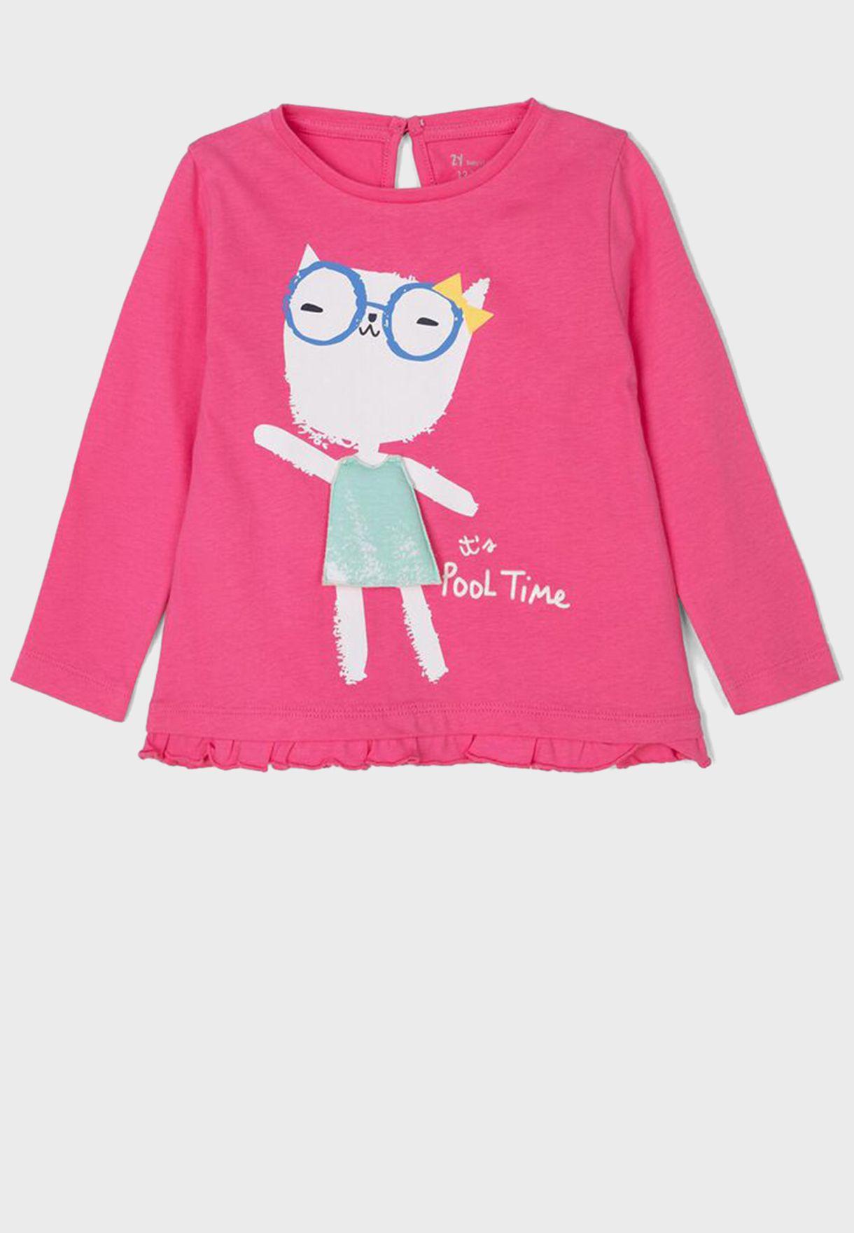 Kids Printed Sweater