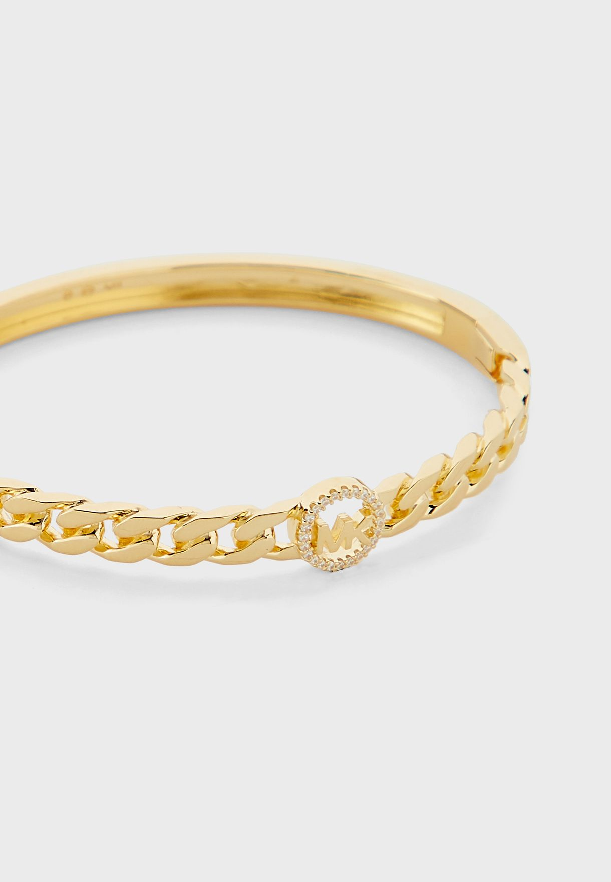 Logo Chain Detail Bracelet