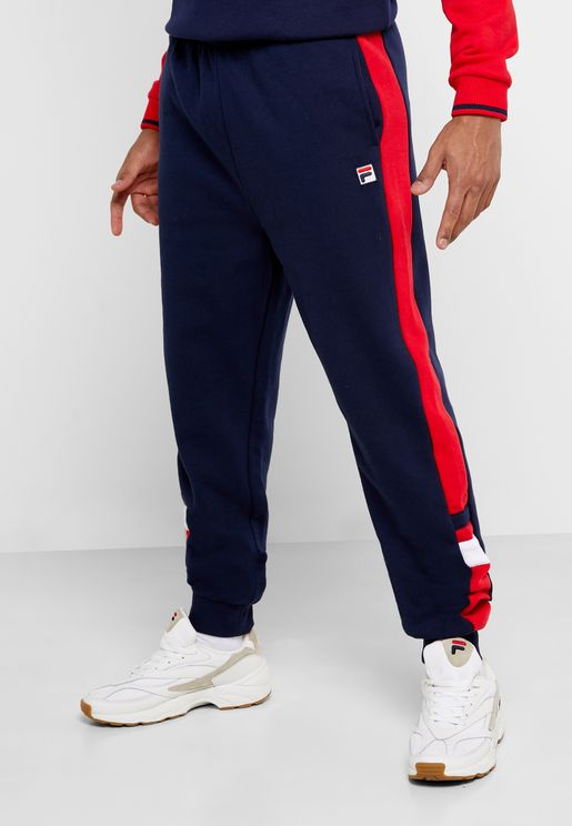 Romolo Cut & Sew Sweatpants