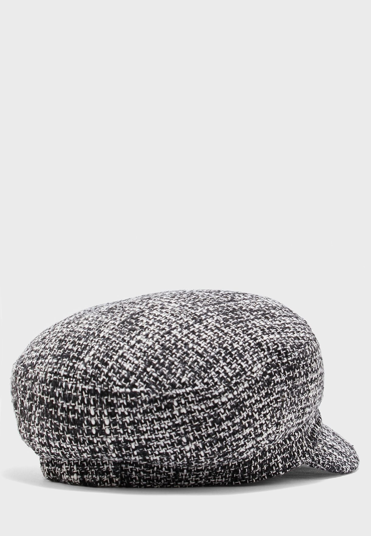 Lurex Baker Boy Hat