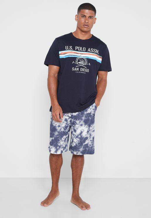 T-Shirt Short Set
