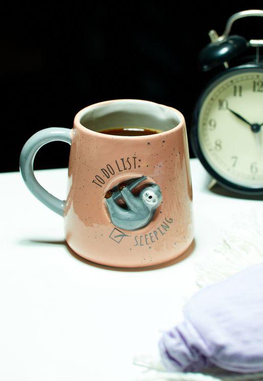 Sleeping Sloth Mug