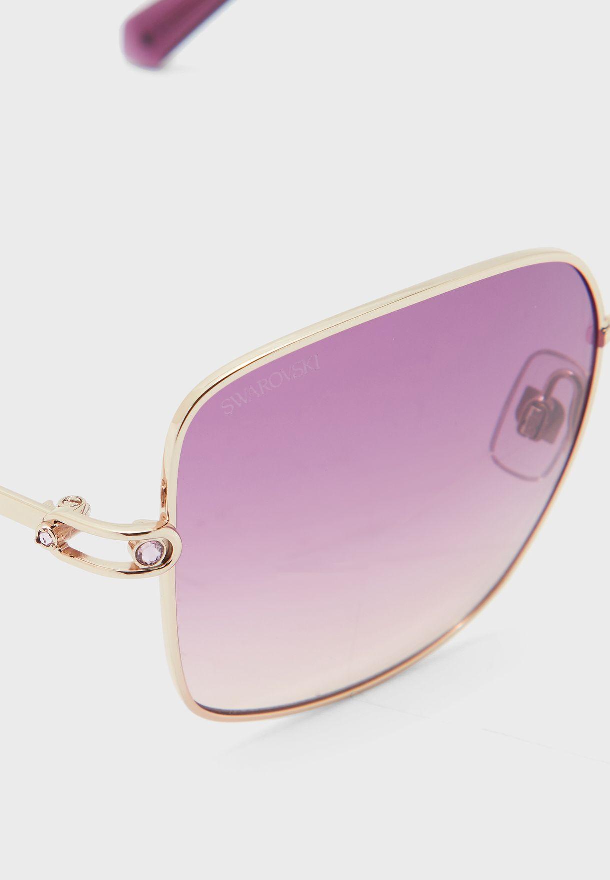 نظارة شمسية كبيرة SK0313 28T