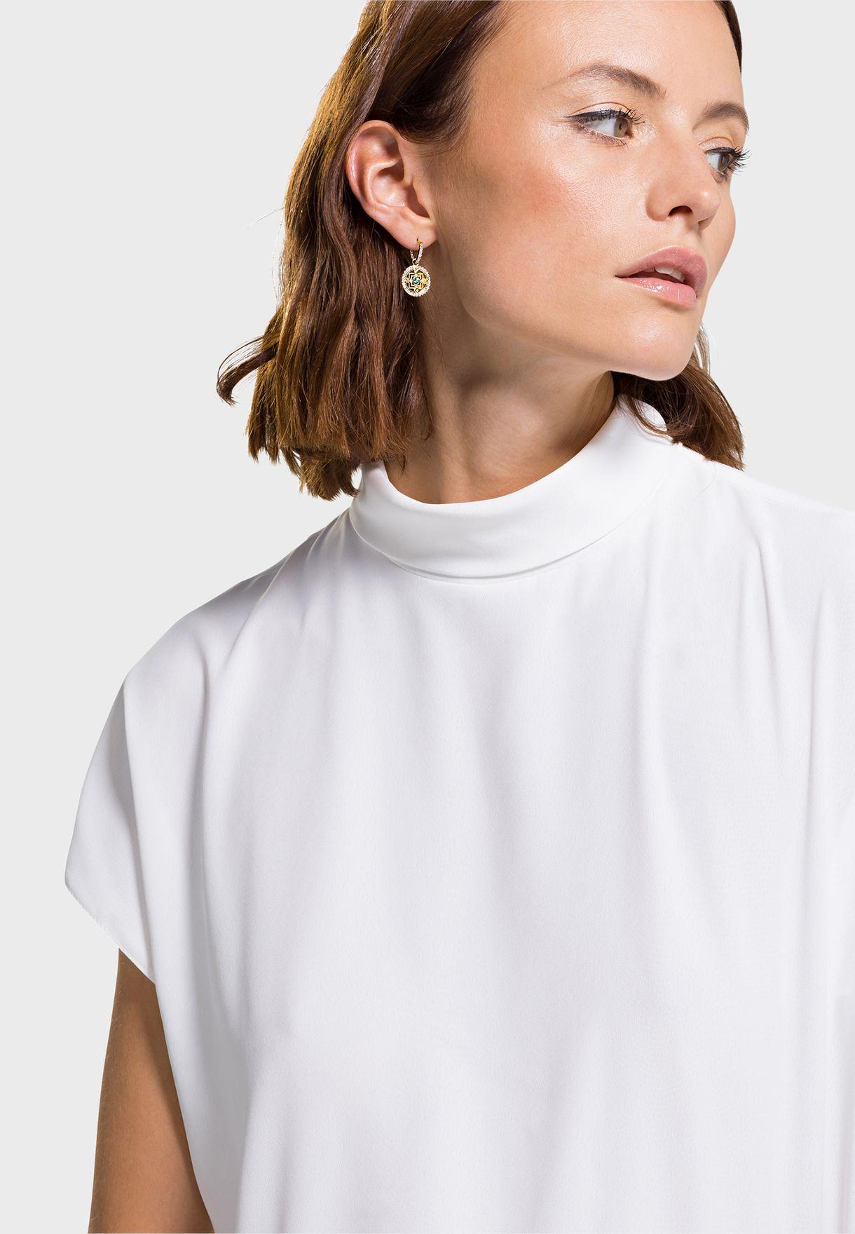 Mandala Drop Earrings