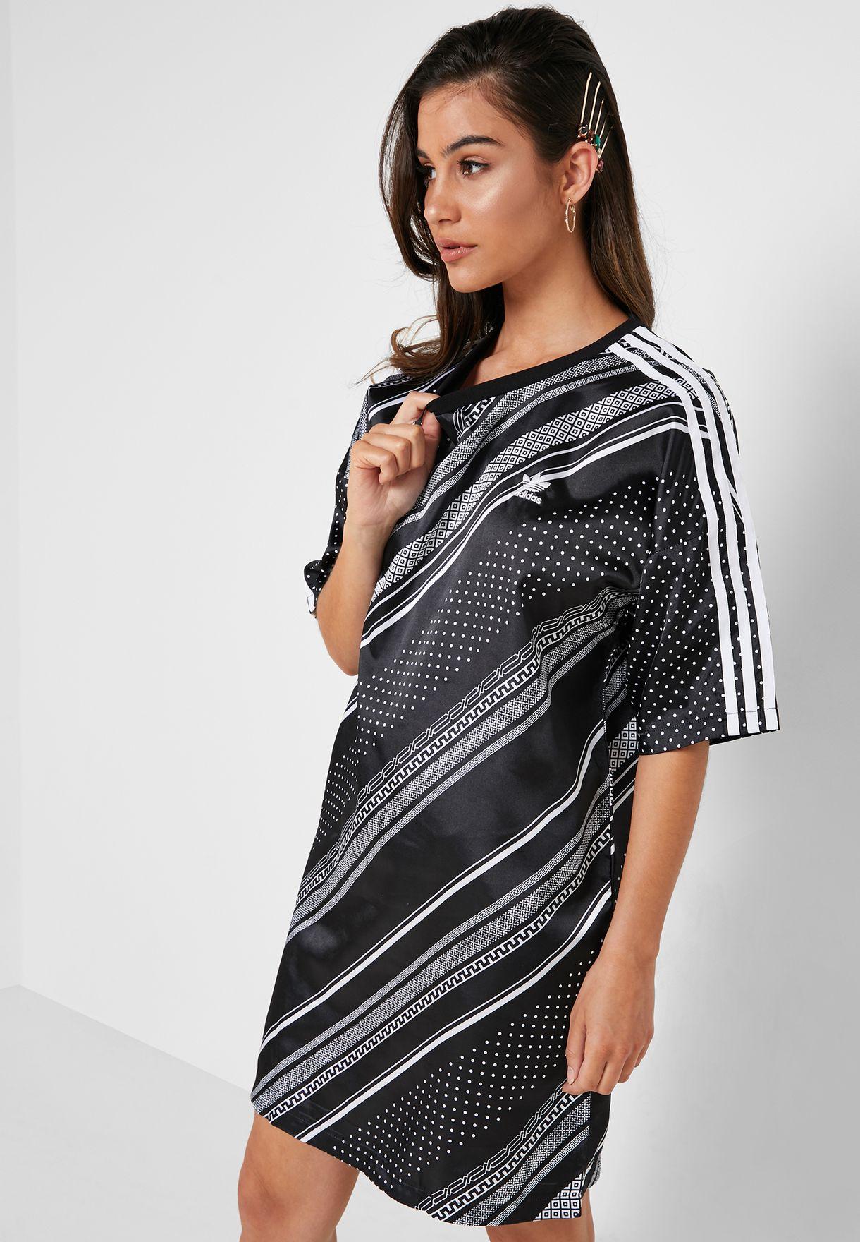 fc17c53e4f4 Shop adidas Originals black Trefoil Dress DV2596 for Women in Saudi -  14448AT20YKP