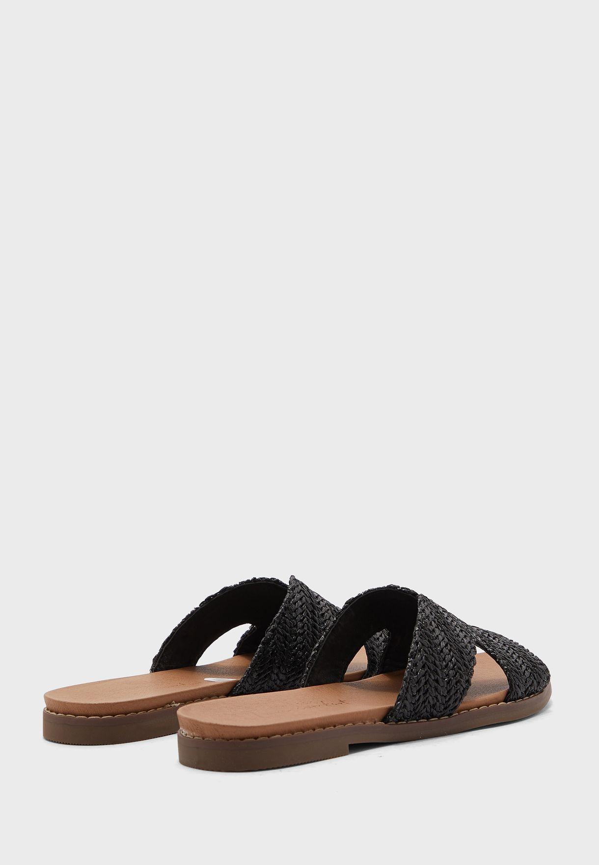 Fizzed Flat Sandal
