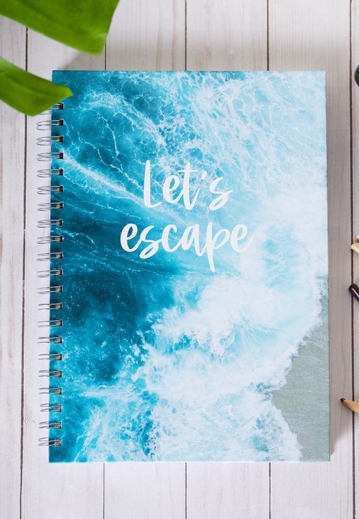 A4 Let's Escape Notebook