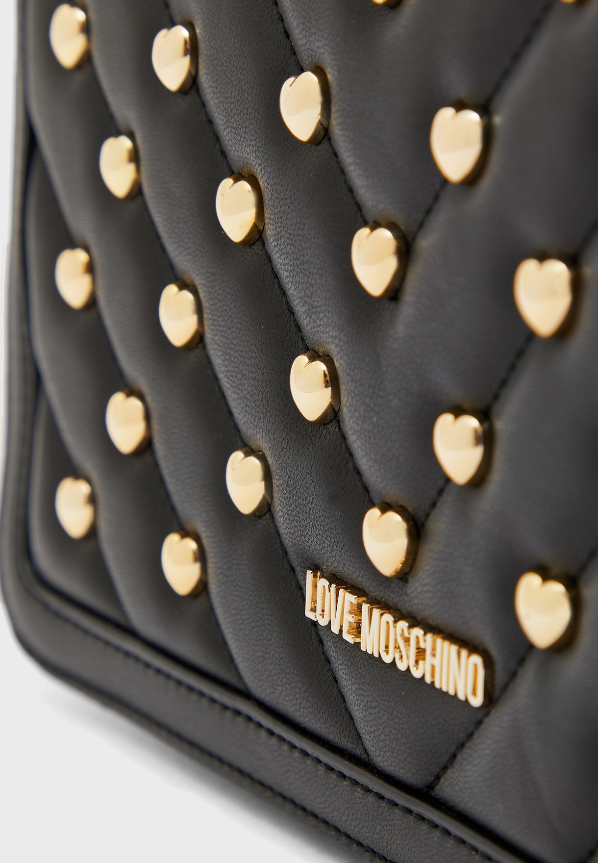 Studded Flap Over Crossbody