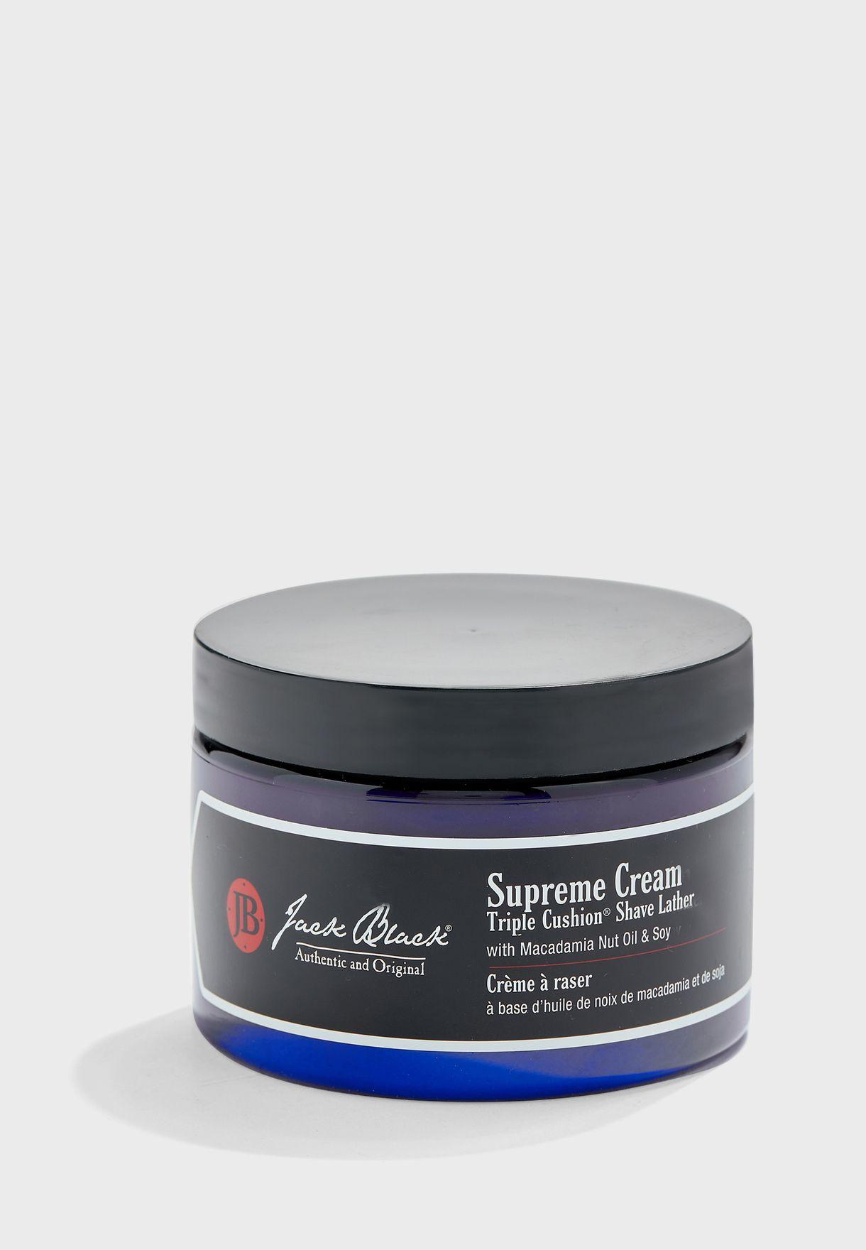 Supreme Cream Triple Cushion Shave Lather 270ml