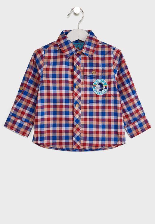قميص كاجوال مربعات