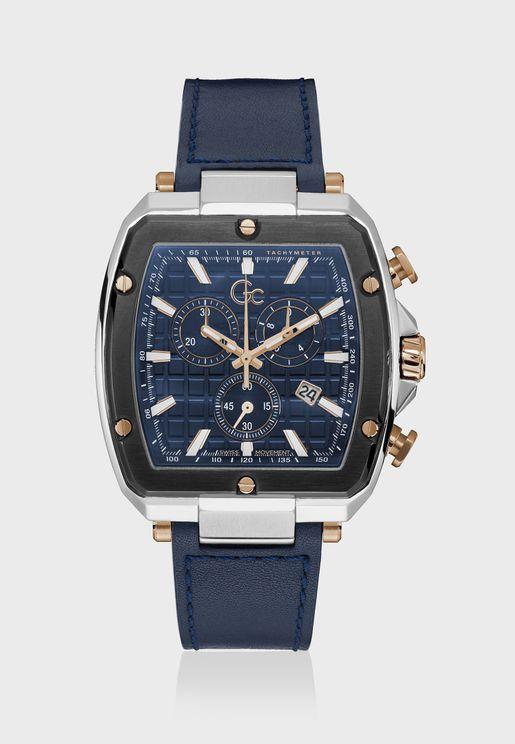 Spirit Tonneau Chronograph Flexstrap Watch