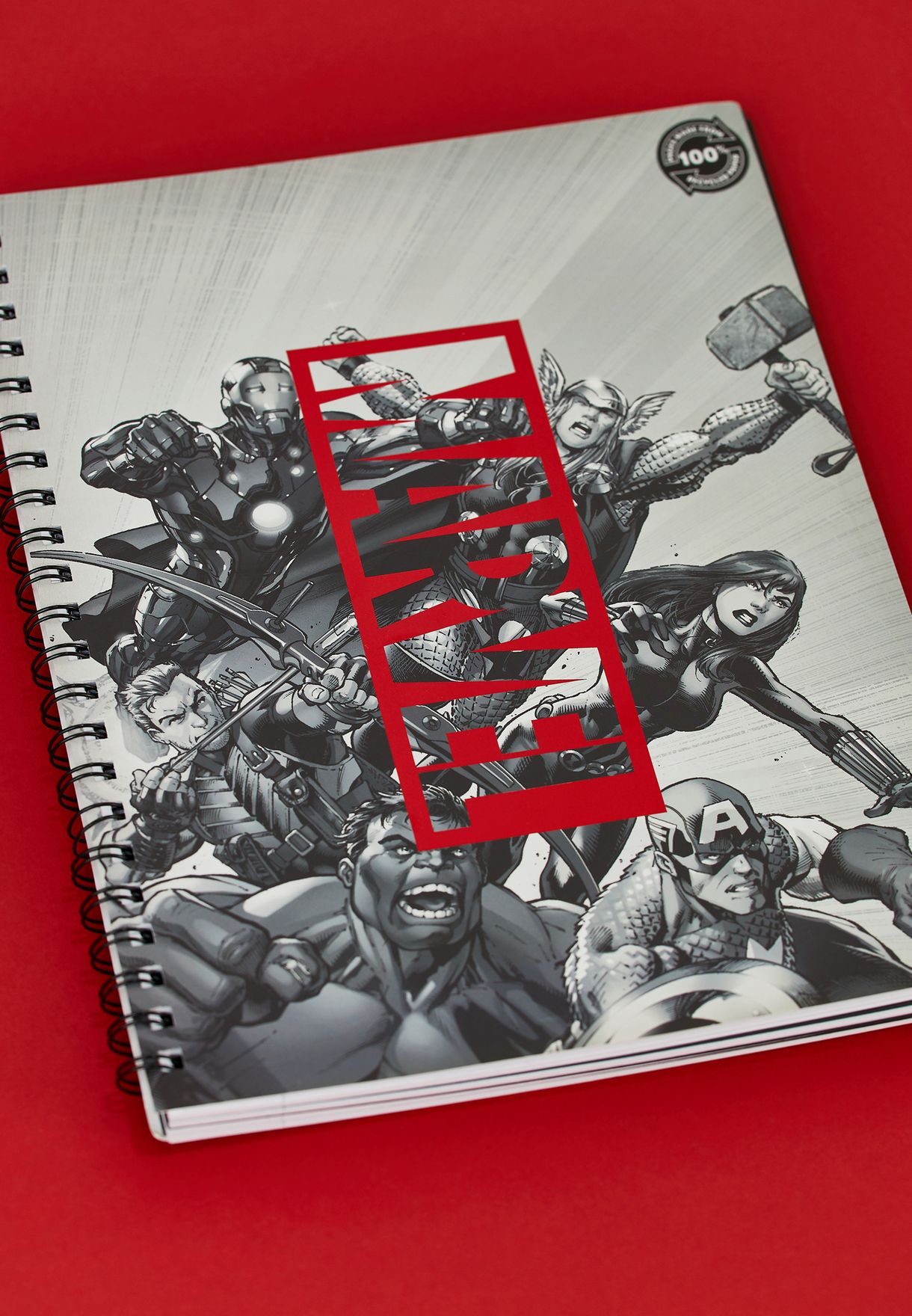 A4 Marvel Notebook