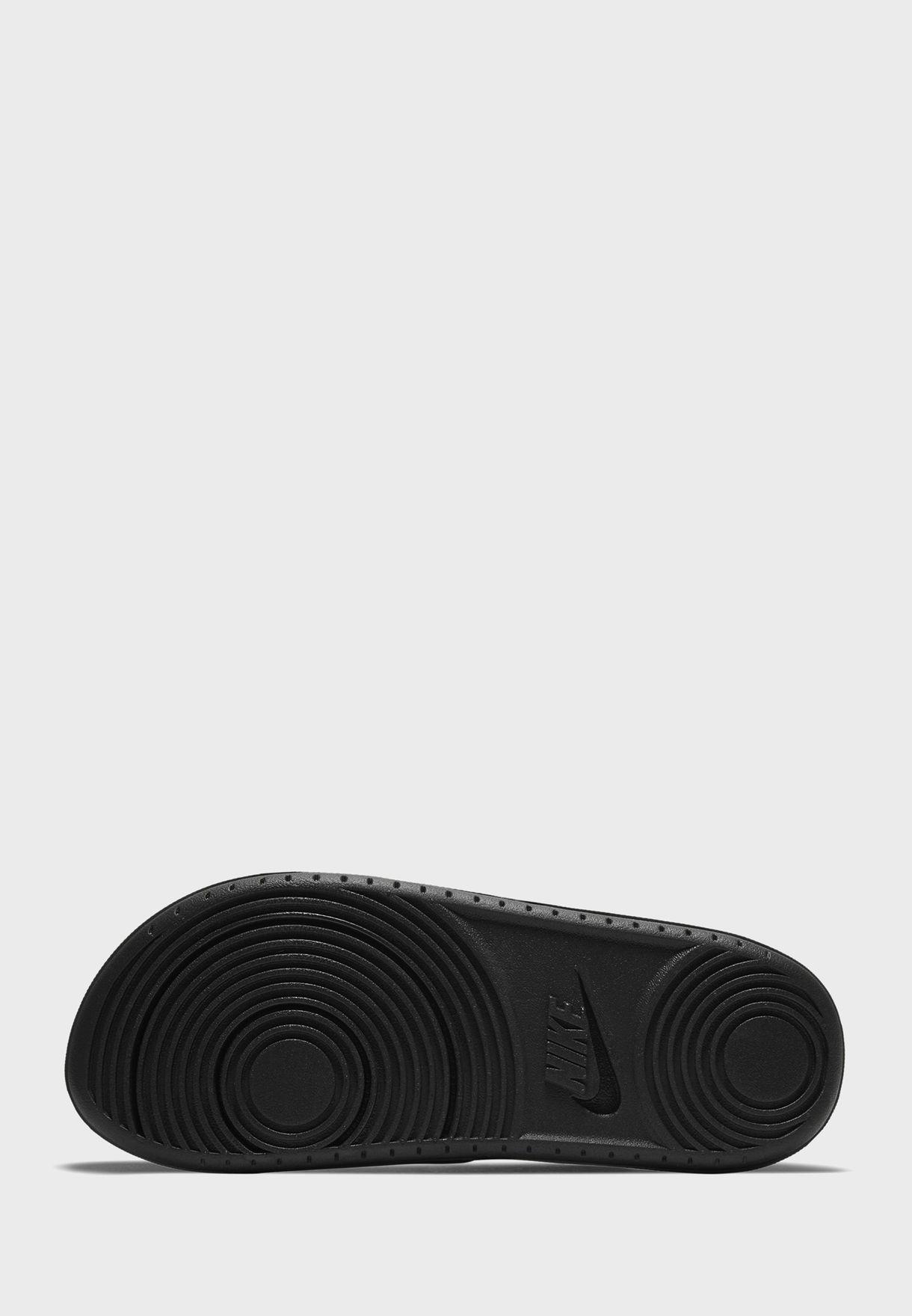 Offcourt Slide Faux Fur