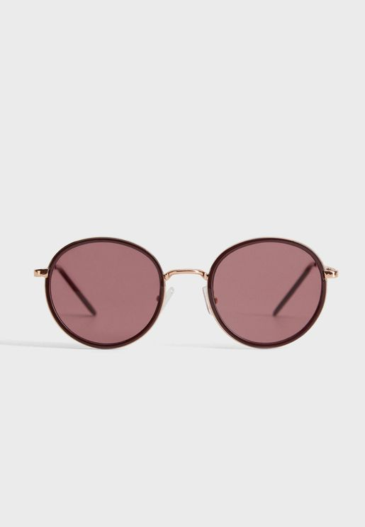 Ammy Rounded Frame Sunglasses