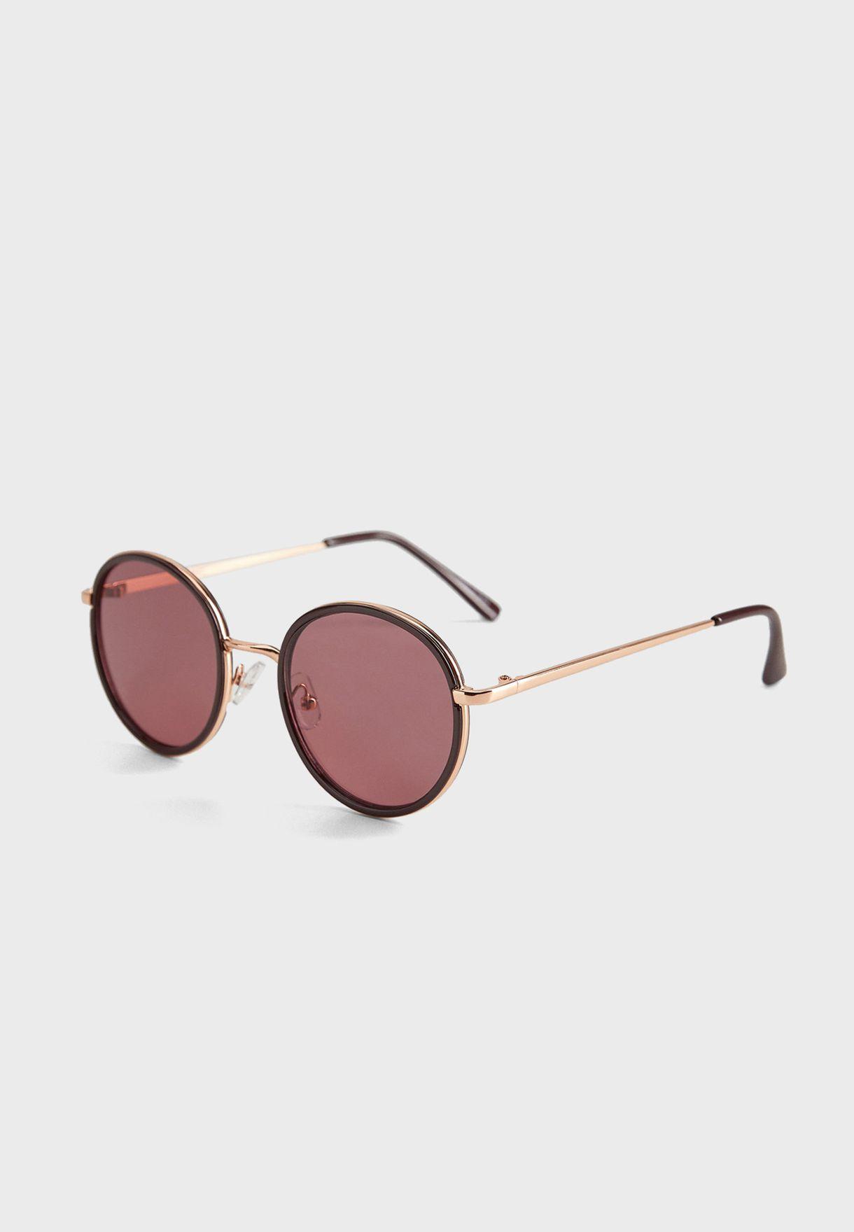 Ammy Rounded Frame Sunglasses