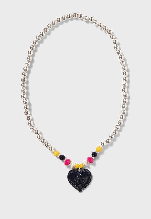 Kids Heart Charm Necklace