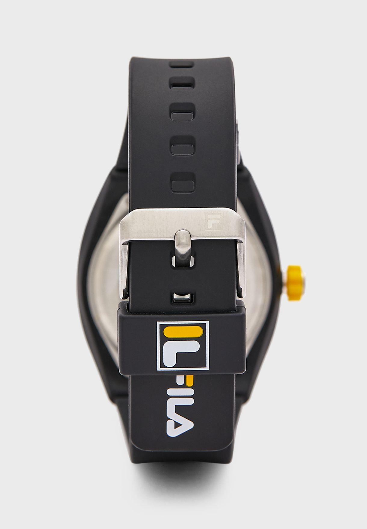 Silicon Logo Watch