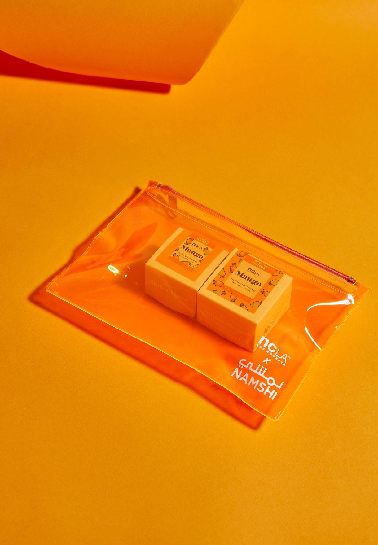 NCLA X Namshi Mango Lip Balm & Scrub Set