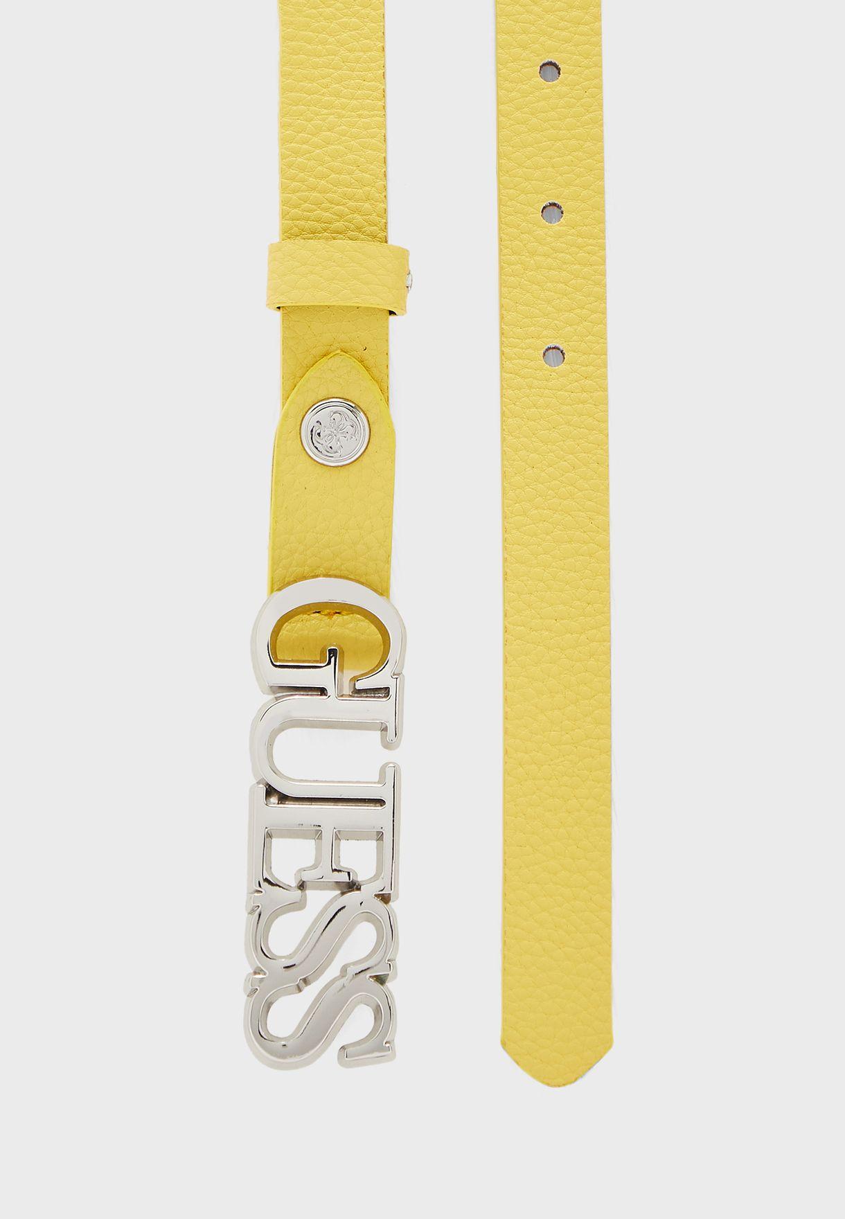 Cinturon Logo Belt