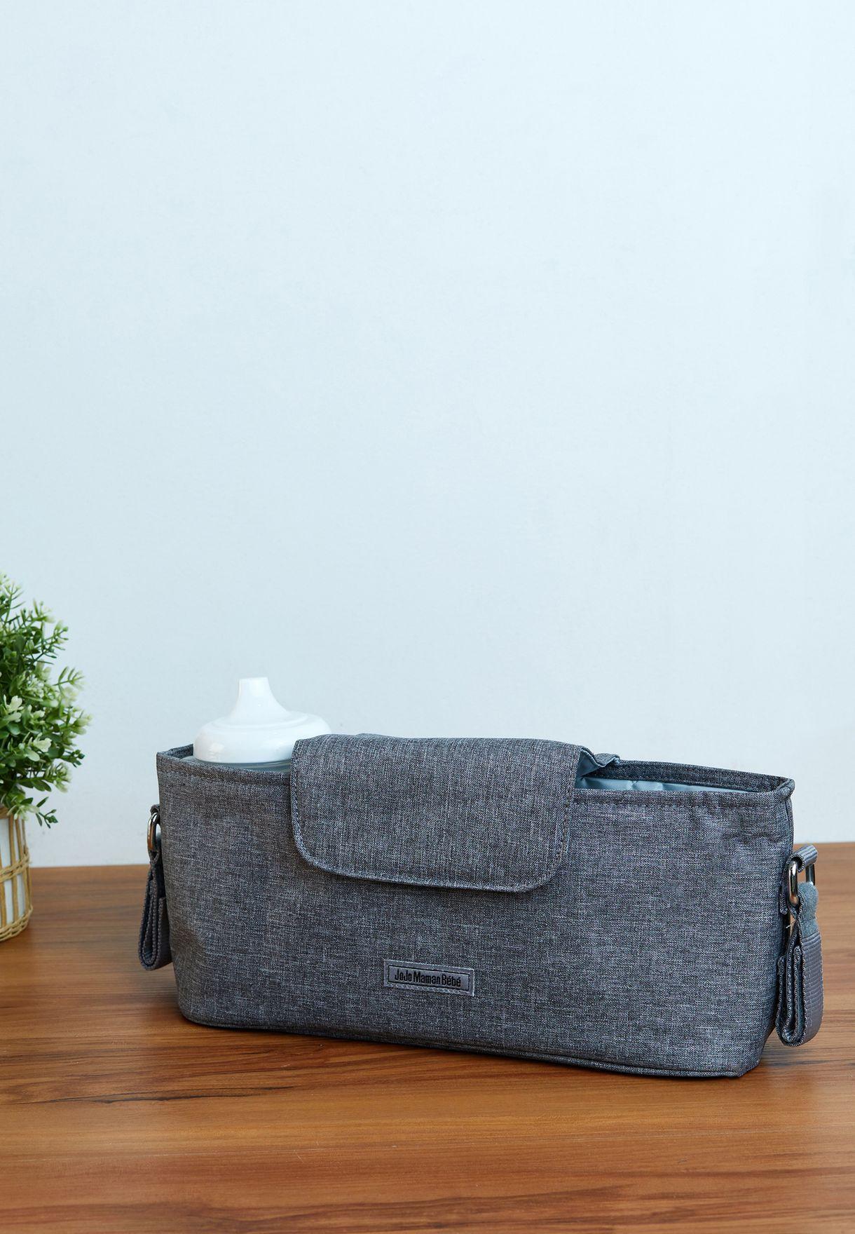 Grey Stroller Organiser