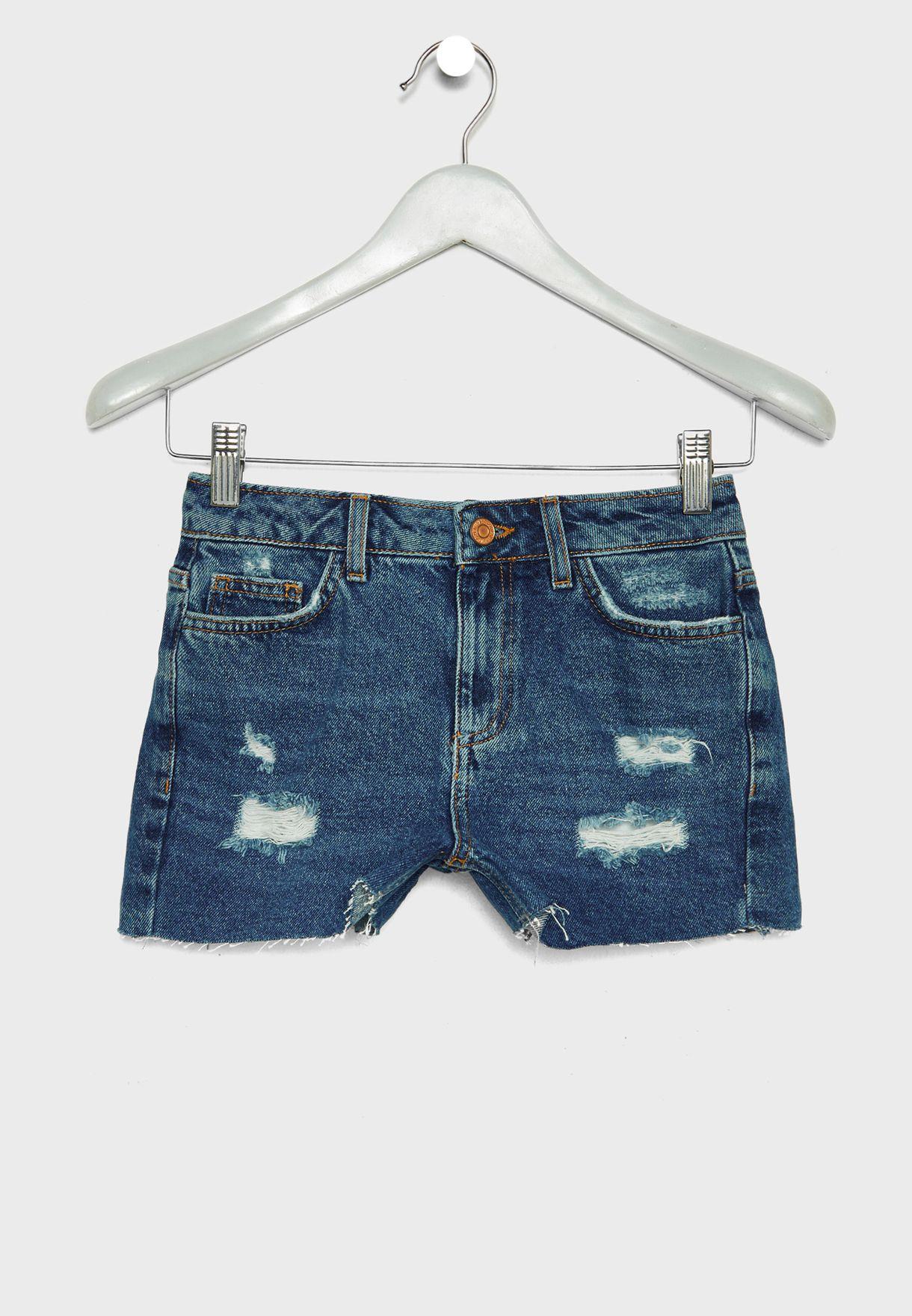 Teen Ripped Shorts