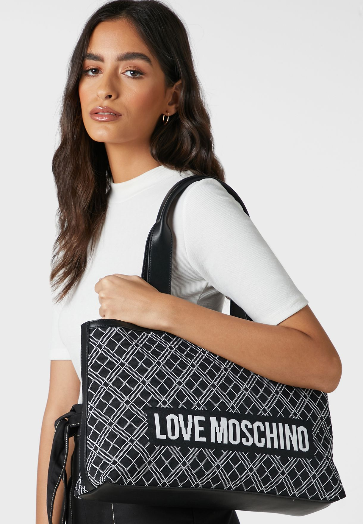 Logo Top Handle Shopper