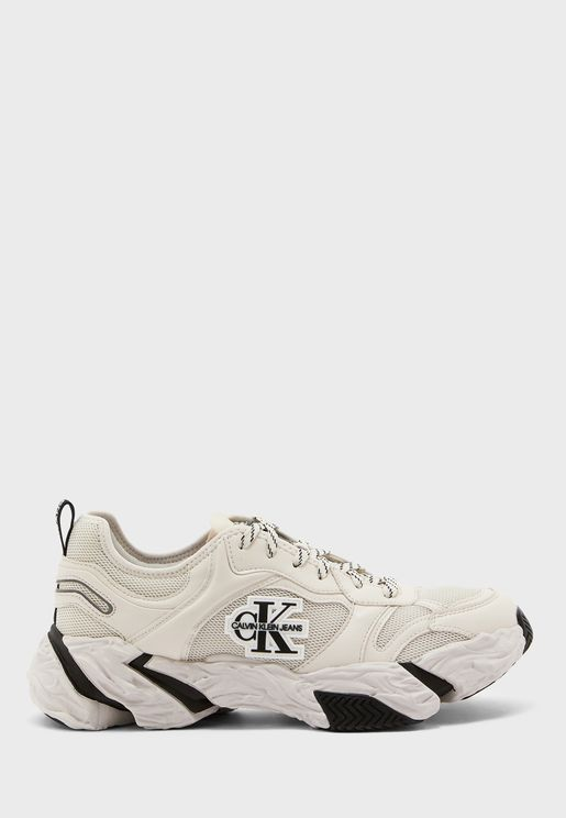 Chunky Sole Laceup Sneakers