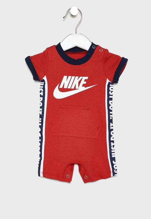 Infant Just Do It Romper