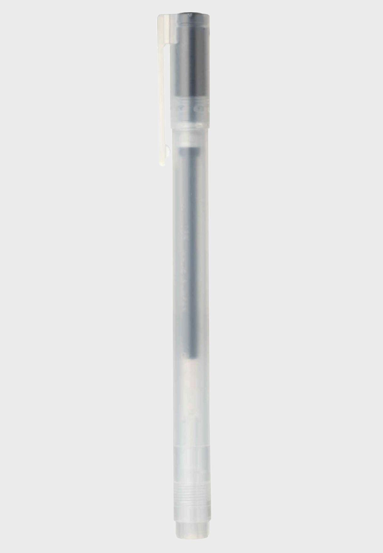 Gel Ink Ballpoint Pen Cap Type 0.38