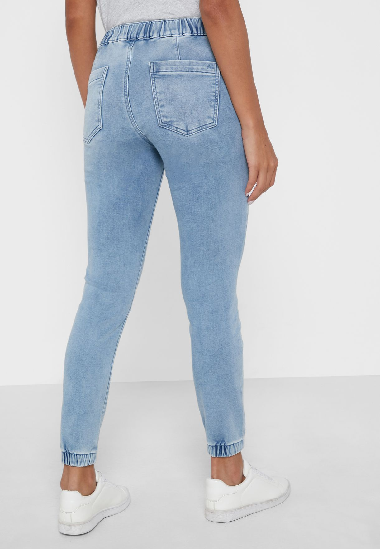 Mid Wash Jegging Joggers
