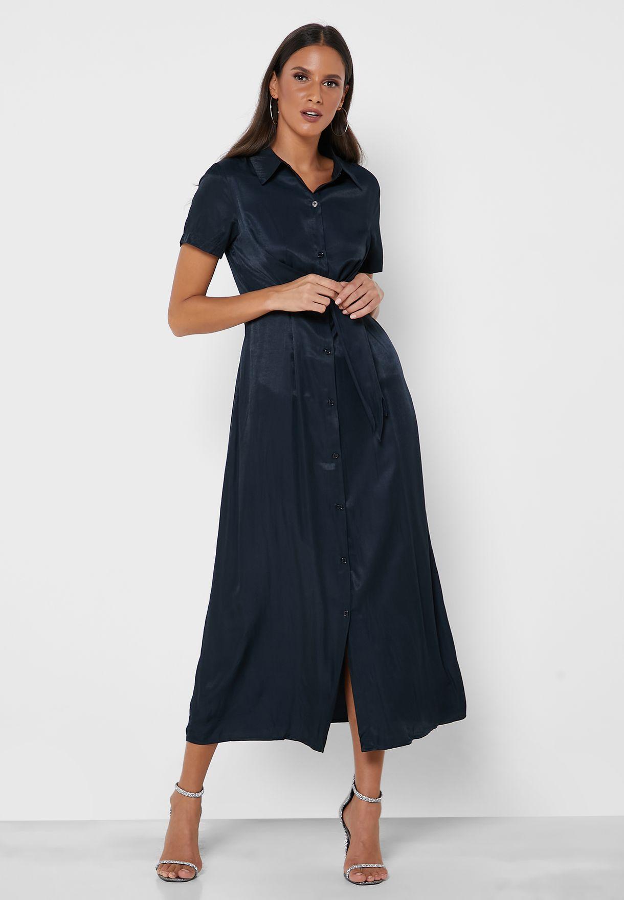 فستان بنمط ملتوي