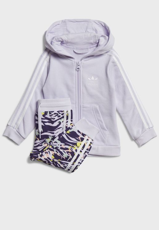 Infant Logo Hooded Tracksuit