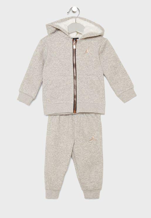 Infant Jordan Fleece Set