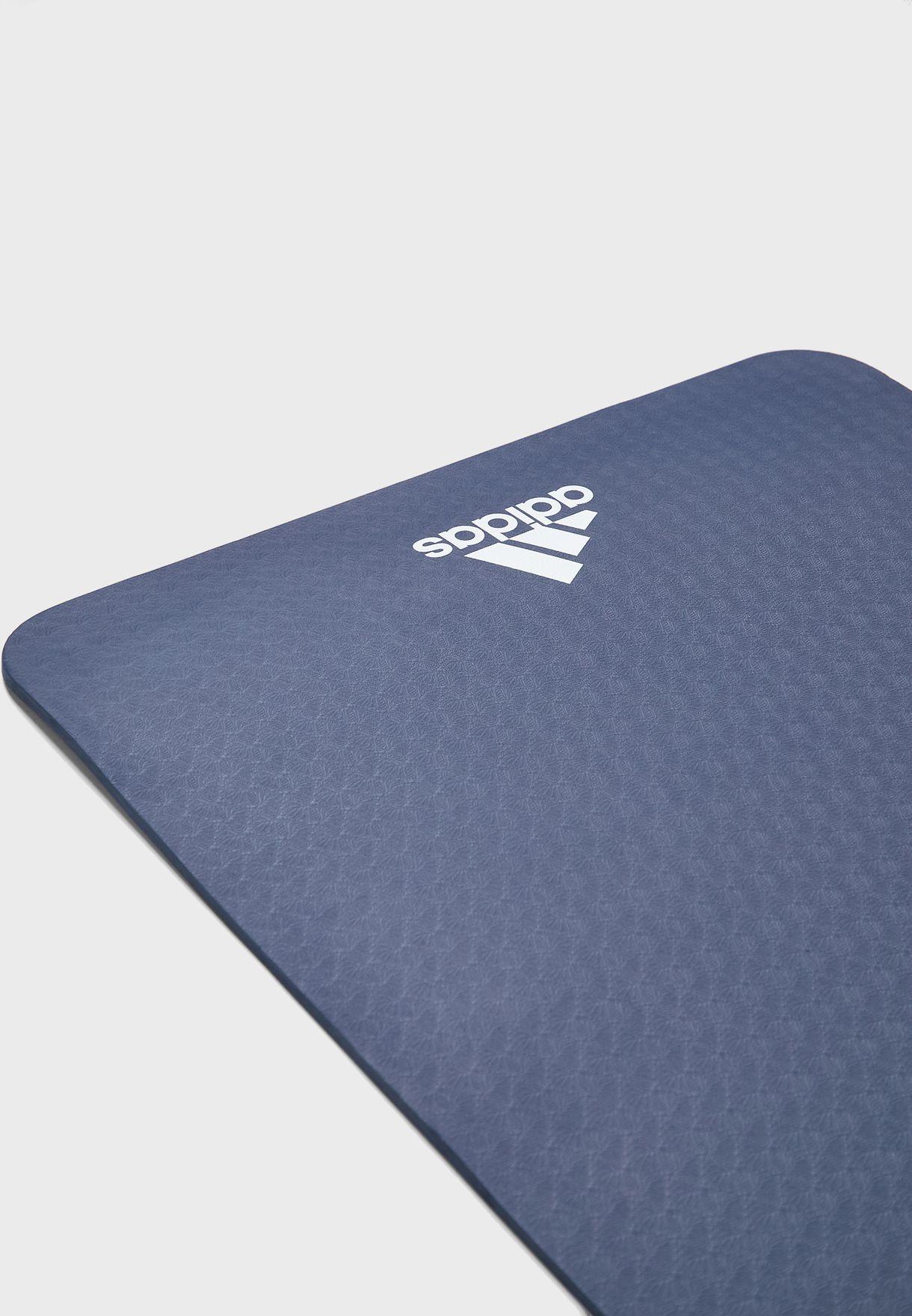 Buy Adidas Blue Yoga Mat 8mm For Women In Mena Worldwide Globally 14448ac20qbp