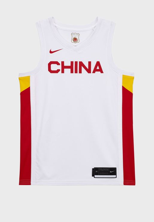 Chicago Bulls Home Blink Olympic Jersey