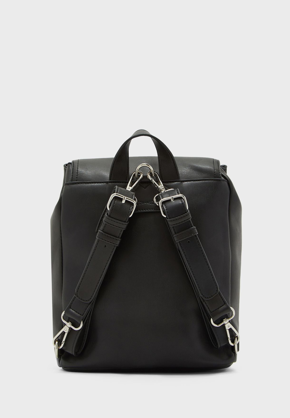 Front Zip Flap Over Backpack