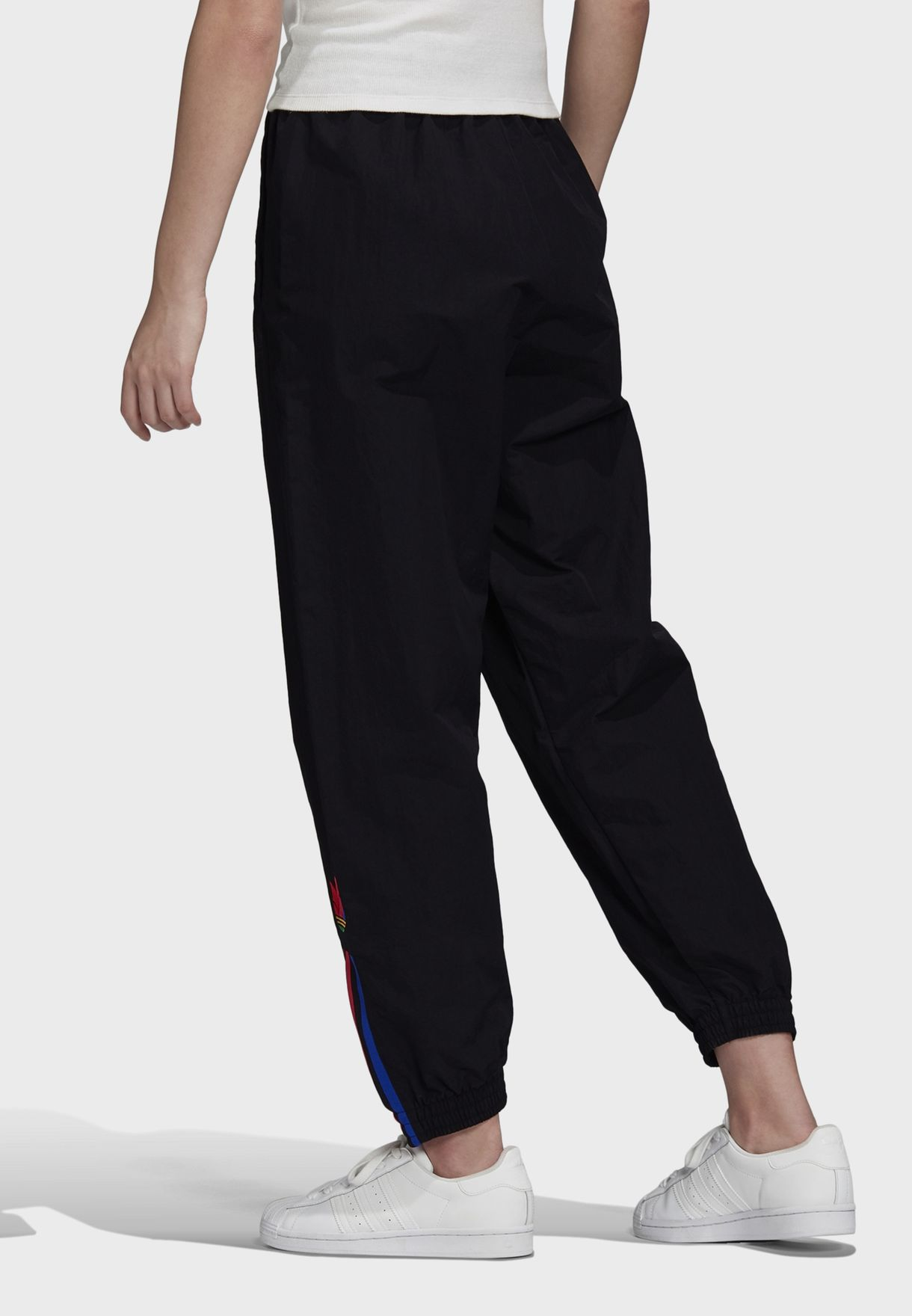 3 Stripe Cuffed Track Pants