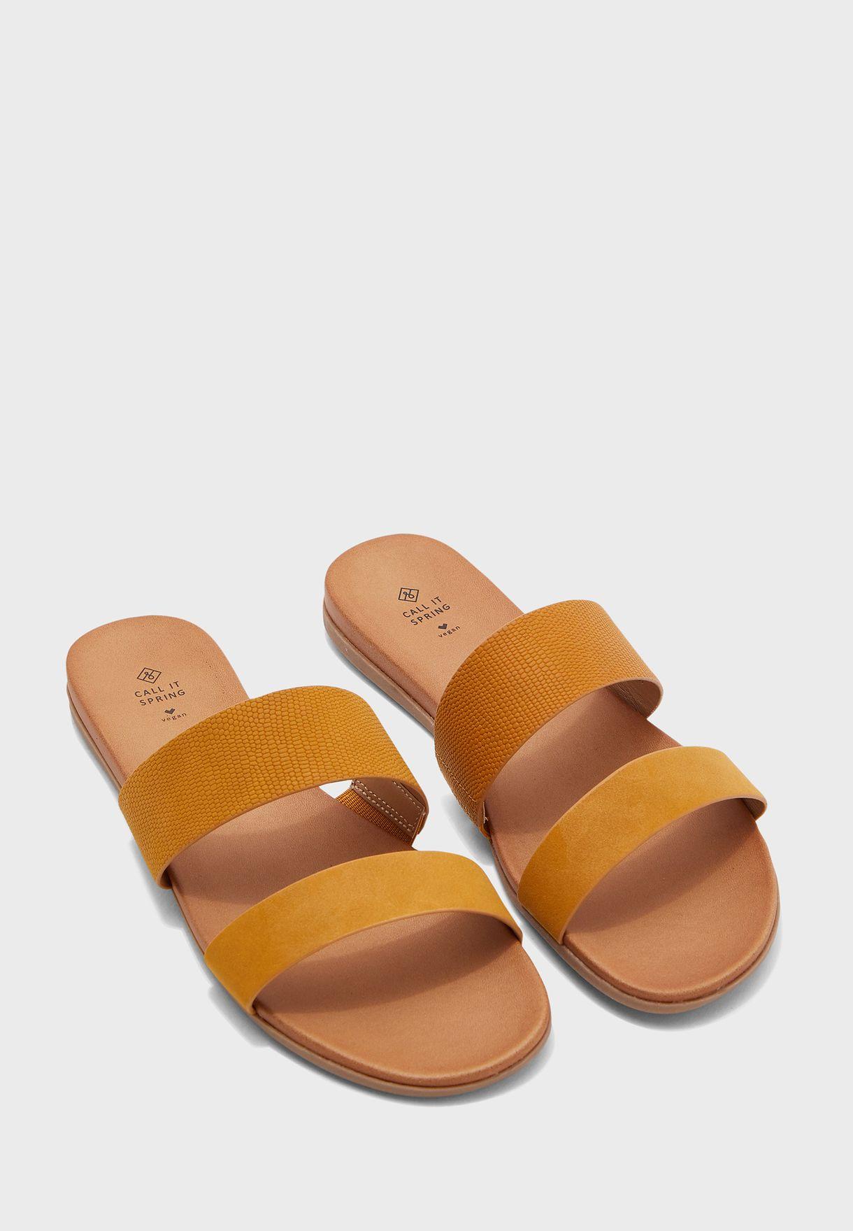 Drabeth Sandal - Yellow