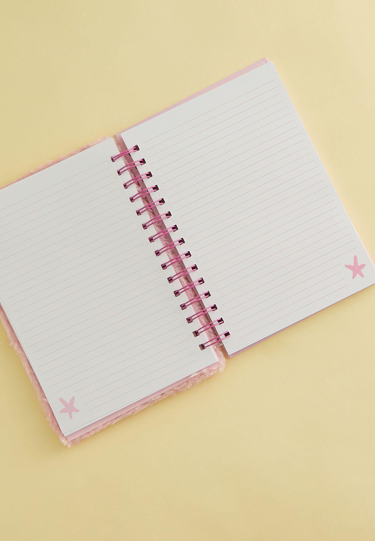 دفتر ملاحظات بطبعة وحيد القرن
