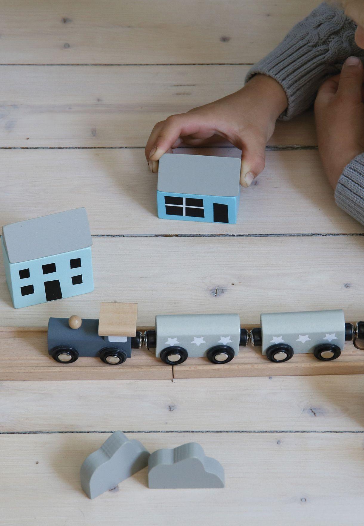 لعبة السكة الحديدية للاطفال