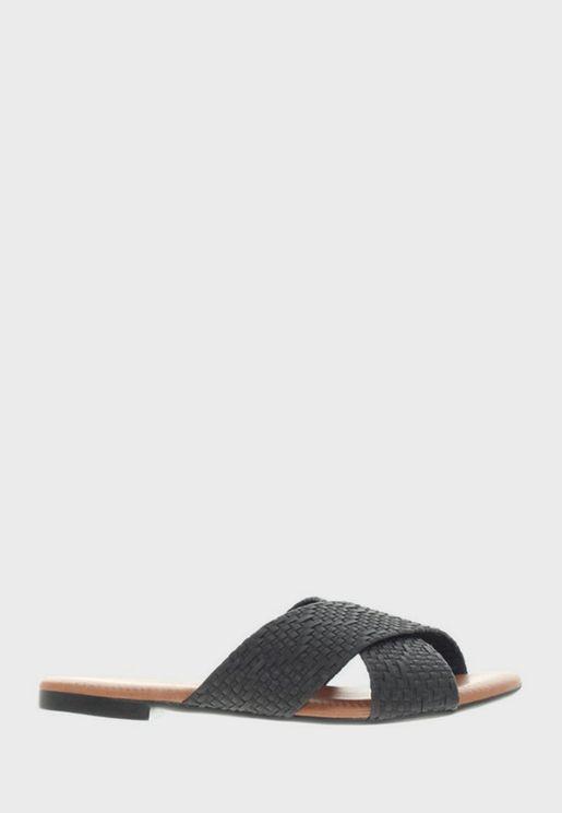 Armani Flat Sandal