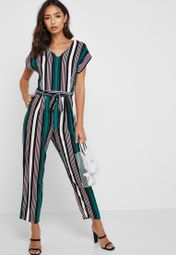 674a1cd88d54 Shop Dorothy Perkins Petite multicolor Striped Printed Jumpsuit 79201922  for Women in UAE - 20992AT20JQP