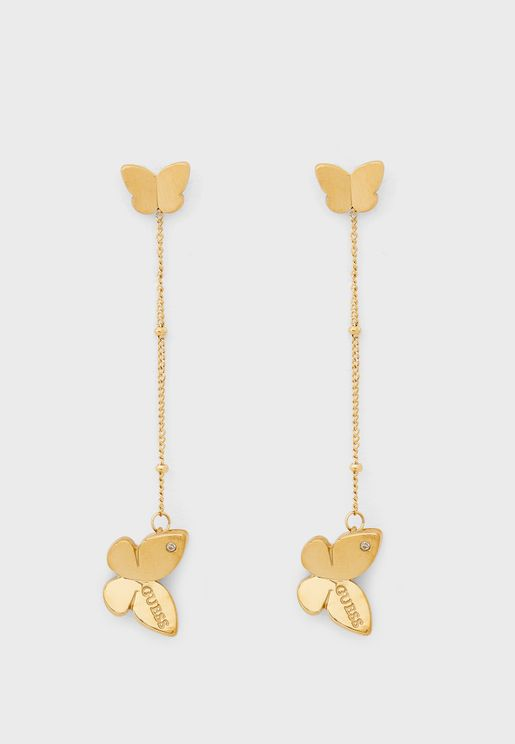 Butterfly Long Earrings