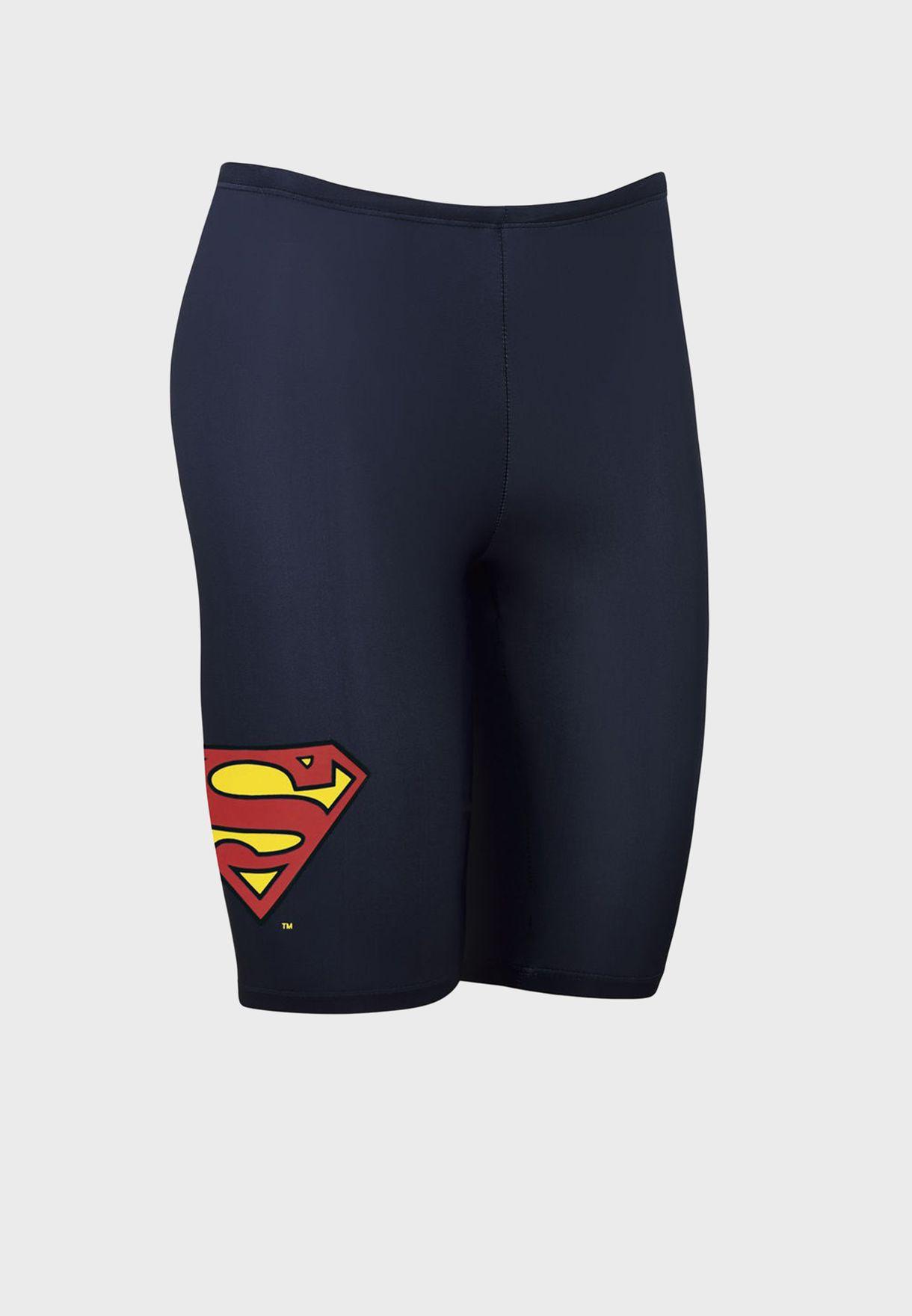 Youth Superman Swimming Shorts