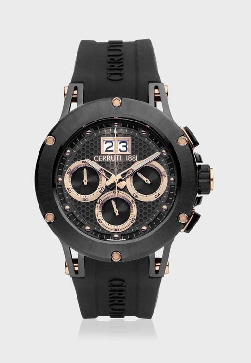 ساعة بحزام من السيليكون C CRWA29605